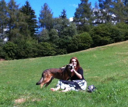 camillo e mamma in montagna